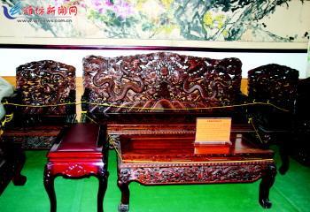 虽然全国生产和营销红木家具的企业超过10万家