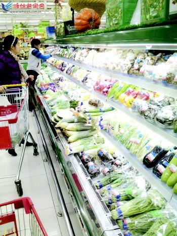 蔬菜专卖店效果图图片分享; 有机蔬菜渐受市场认可;