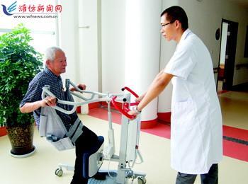潍坊鹤翔安养中心马秀兰副院长说