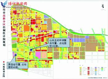 关于对《潍坊市中心小学中小学布局v小学(2011南通通州城区图片